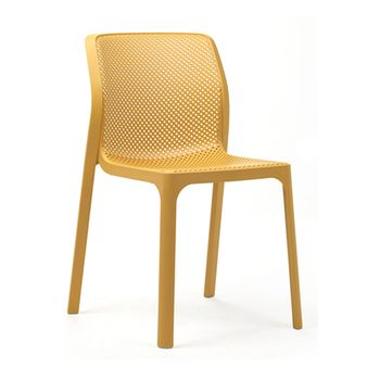 Chaise Bit moutarde
