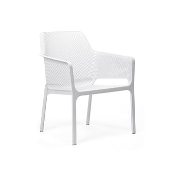 Chaise Net relax blanc