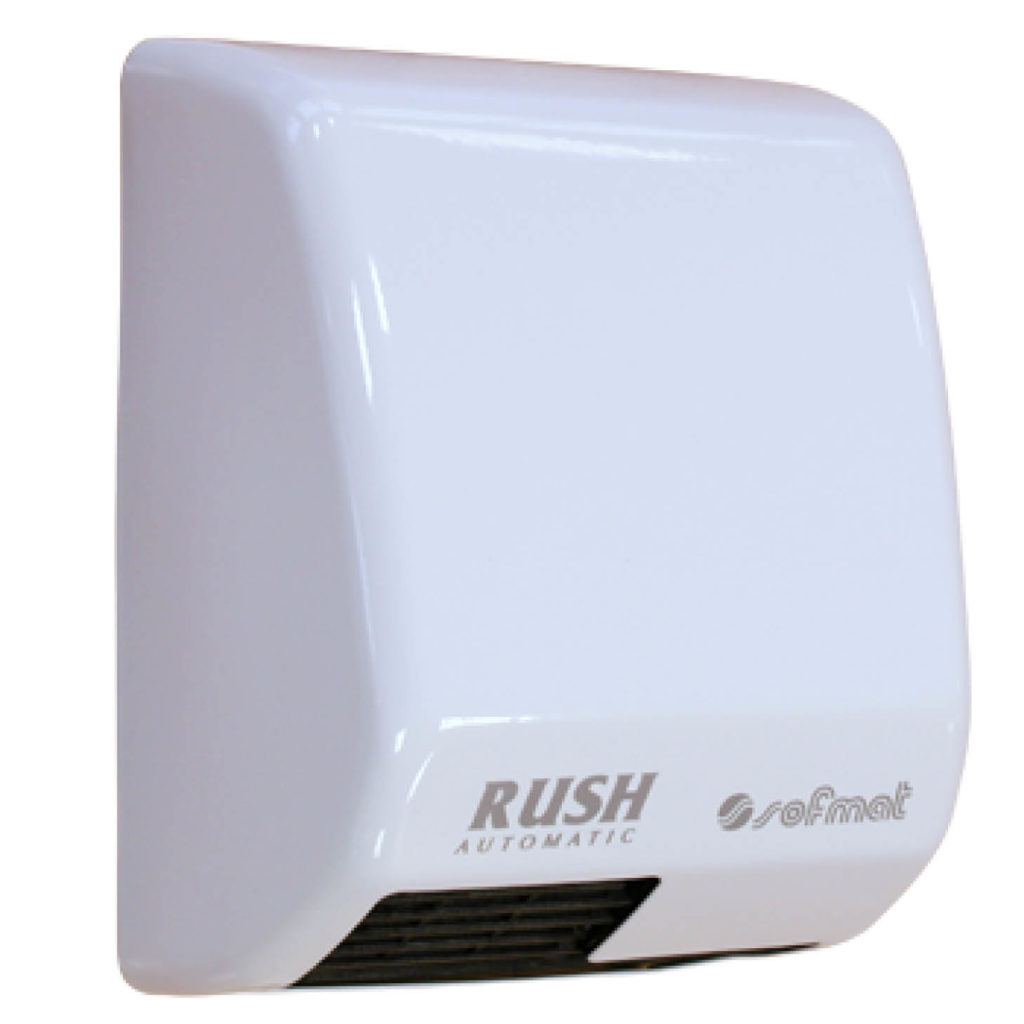 Sèche-mains Rush automatique blanc