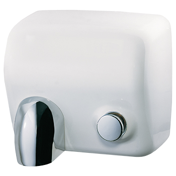 seche mains manuel extreme blanc